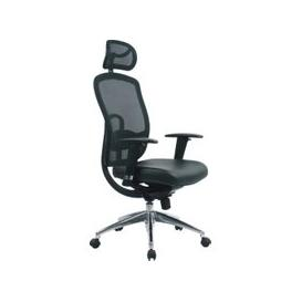 image-Dalla Executive Mesh Back Chair, Black