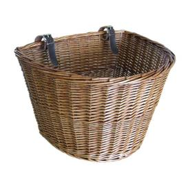 image-Bicycle Willow Basket Brambly Cottage Size: Large