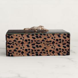 image-Leopard Rectangular Jewellery Box Canora Grey