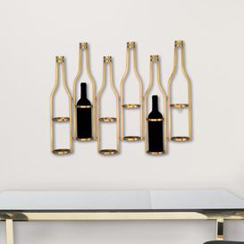 image-Newby 6 Bottle Wall Mounted Wine Rack Canora Grey