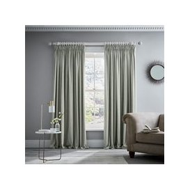 "image-Murmur Niki Pair of Lined Curtains 66"" x 54\"", Sage"