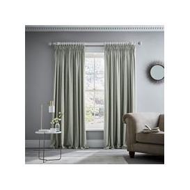 "image-Murmur Niki Pair of Lined Curtains 66\"" x 54\"", Sage"