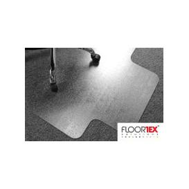 image-Cleartex Advantagemat PVC Lipped Chair Mat For Low Pile Carpets