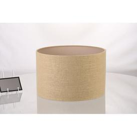 image-Carlotta 45cm Linen Drum Lamp Shade August Grove