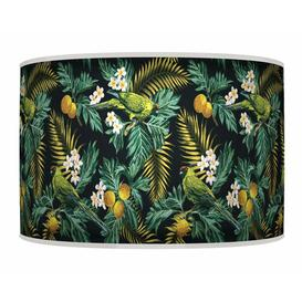 image-Polyester Drum Shade Bay Isle Home Size: 20cm H x 45cm W x 45cm D, Type: Ceiling/Wall