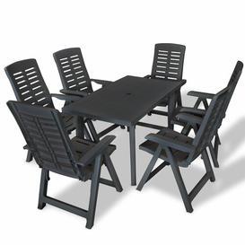image-Chacon 6 Seater Dining Set Dakota Fields
