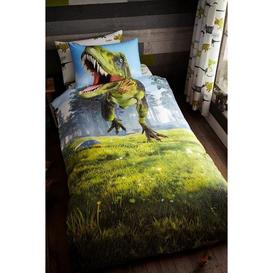 image-Dino Kids Panel Duvet Set