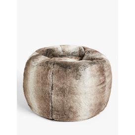 image-John Lewis & Partners Premium Faux Fur Beanbag, Ombre, Medium/Large