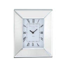 image-Mirror Box Table Clock