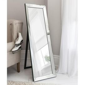 image-Gallery Direct Luna Cheval Mirror / Silver