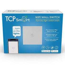 image-TCP Smart WI-FI Single Gang Light Switch