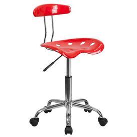 image-Gaitan Ergonomic Task Chair Zipcode Design Colour: Red