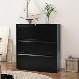 image-Universal Folder Cabinet With 3 Drawers