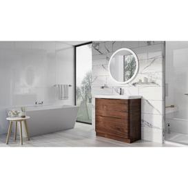 image-Harleigh 900mm Wall Mounted Vanity Unit Ebern Designs
