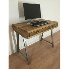 image-Abrianna Writing Desk Williston Forge Size: 80.5cm H x 140cm W x 60cm D