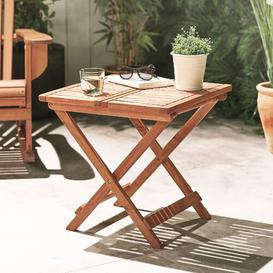 image-Andrina Folding Wooden Side Table Dakota Fields