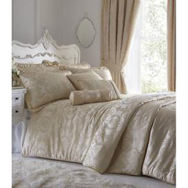 image-Silvana Boudoir Cushion with Filling Marlow Home Co. Colour: Ivory