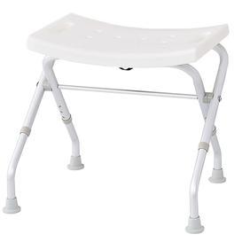 image-RIDDER Folding Bathroom Stool 110 Kg White A0050301