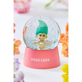 image-Trolls Good Luck Snow Globe