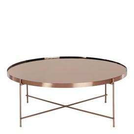 image-Oakland Coffee Table Canora Grey Colour: Rose Gold