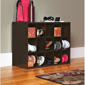 image-15 Pair Shoe Storage Cabinet Closetmaid Finish: Espresso