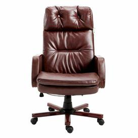 image-Executive Chair Symple Stuff Colour (Upholstery): Brown