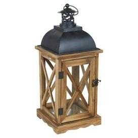 image-X Wooden Lantern Marlow Home Co.