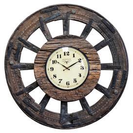 image-Old wheel clock