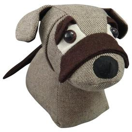 image-Normandie Dog Fabric Weighted Door Stop Brambly Cottage