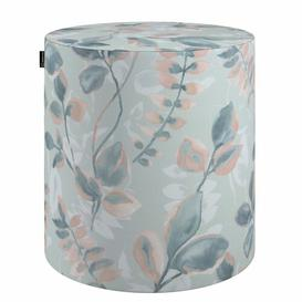 image-Forest Stool Dekoria Upholstery Colour: Blue/Pink