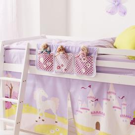 image-Princess Fairytale Bed Tidy Pocket Organiser Tent Colour: Princess Fai