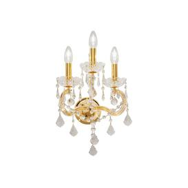 image-Belvedere 3-Light Candle Wall Light Kolarz