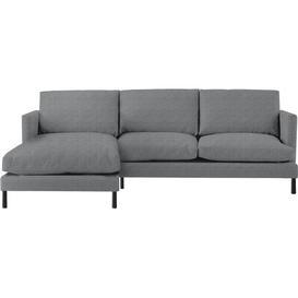 image-Yeomans Chaise Sleeper Corner Sofa Bed Latitude Run Upholstery Colour: Nickel, Orientation: Left Hand Facing