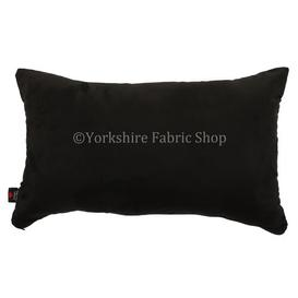image-Grenada Cushion with Filling Yorkshire Fabric Shop Colour: Black
