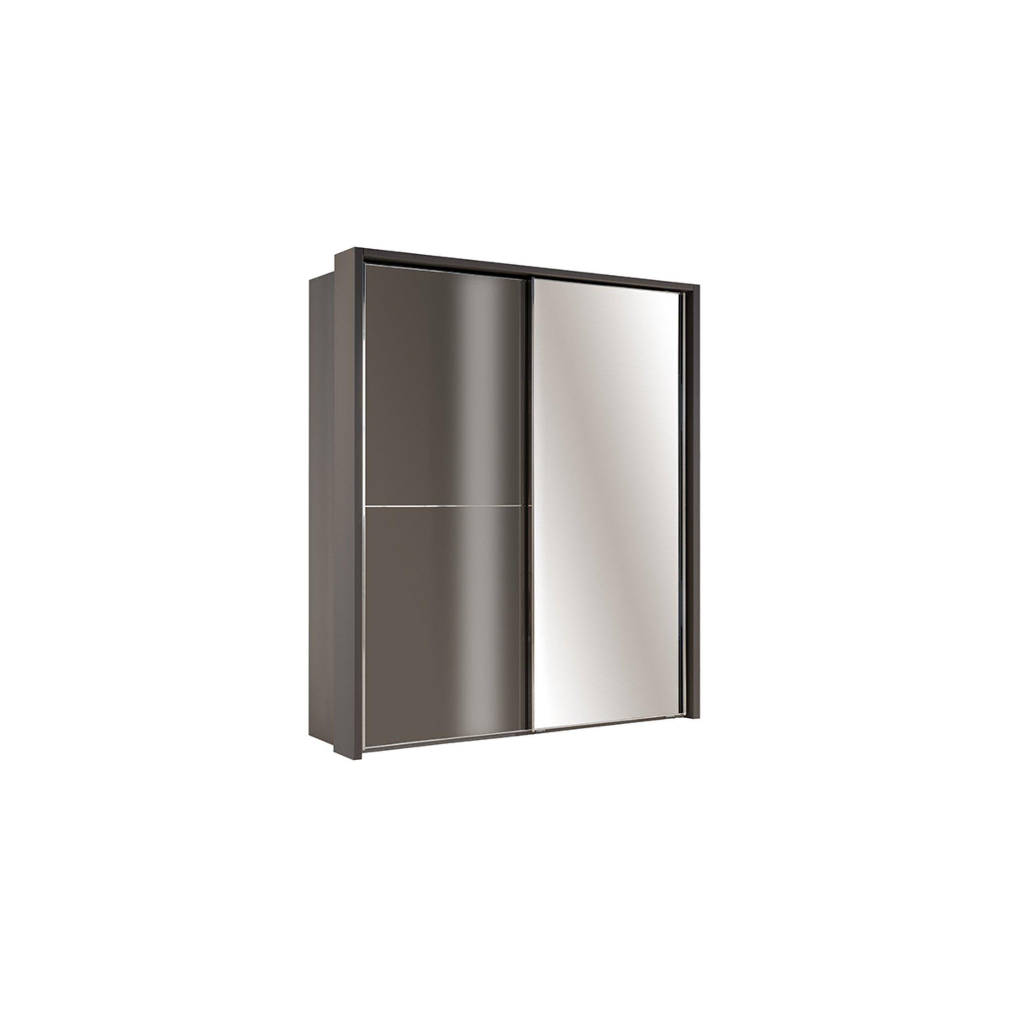 image-Sicily 2 Door Sliding Wardrobe + External LEDs
