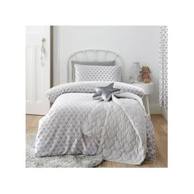 image-Sweetheart Silver Duvet Cover and Pillowcase Set Silver