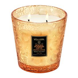 image-Voluspa - Japonica 2 Wick Glass Candle - Spiced Pumpkin Latte