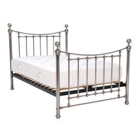 image-Lovisa Antique Nickel Double Bed Frame