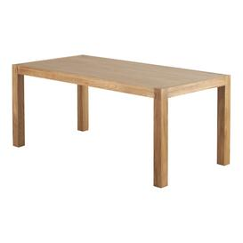 image-Natural Solid Oak Dining Tables - 8 Seater Dining Table - Alto Range - Oak Furnitureland