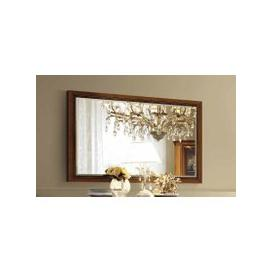 image-Camel Treviso Day Cherry Wood Italian Rectangular Mirror - 140cm x 2.5cm