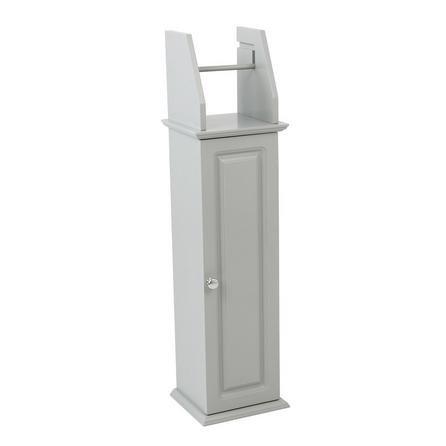 image-Verona Grey Toilet Roll Holder Grey