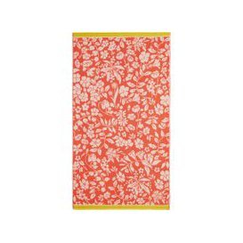 image-Joules Orchard Ditsy Beach Towel, Fruit Salad