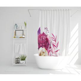 image-Eliscar Polyester Shower Curtain Set Rosalind Wheeler Size: 177cm H x 177cm W