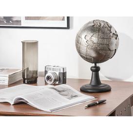 image-Earth Dryden Water Globe Rosalind Wheeler Finish: Silver