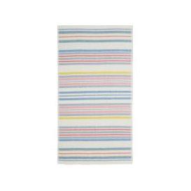 image-Joules Summer Fruit Stripe Hand Towel, Multi