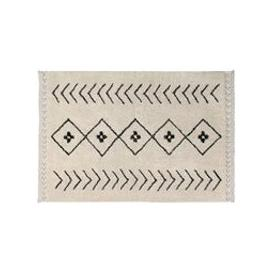 image-Lorena Canals Washable Bereber Rhombs Rug - 140cm x 210cm