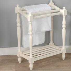 image-Free Standing Towel Rack Fleur De Lis Living