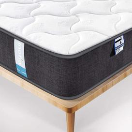 image-Breathable Fabric Support System Memory Foam Pocket Sprung Mattress Inofia Size: Kingsize (5')