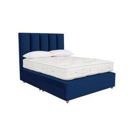 image-Vispring - Herald Superb Pocket Sprung Divan Set - Pocket Spring - King Size - Blue