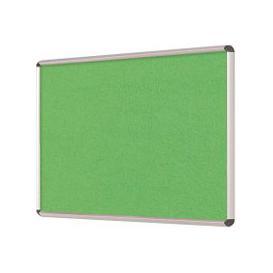 image-Shield Design Aluminium Framed Noticeboard, Apple